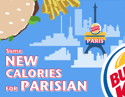 Burger King - Paris - Calories
