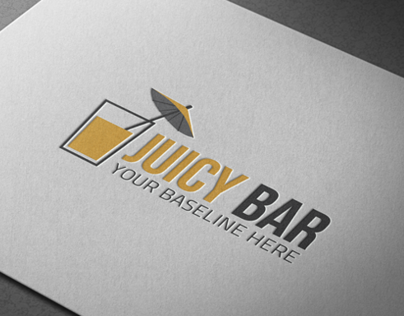 Logo Template # Juicy Bar