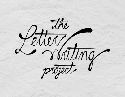 // The Letter Writing Project // BOOK COVER //