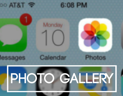 Redesigning iPhone Photo Gallery