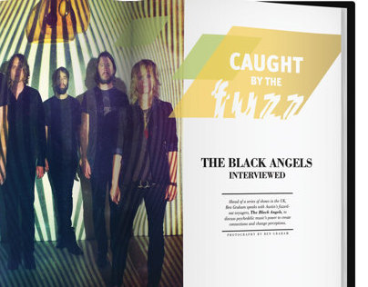 The Black Angels Magazine Spread