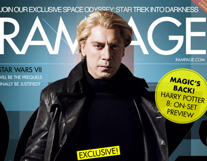 RAMPAGE: A Fictional iPad Magazine