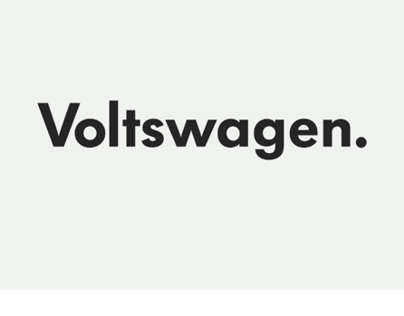 Volkswagen goes electric.