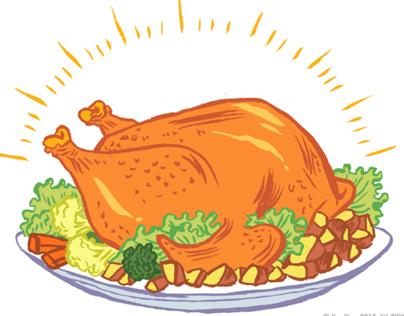 Food Illustrations 2013