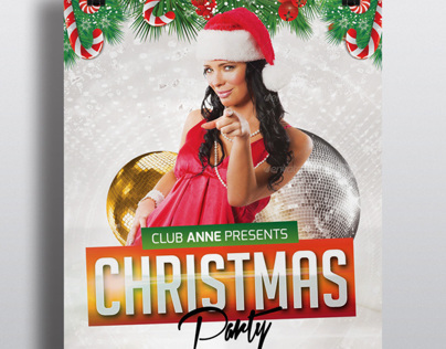 Christmas Event Flyer + Facebook Cover