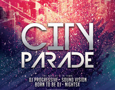 City Parade Flyer