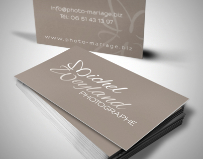 Logo & Cards - Michel Weyland Photographe
