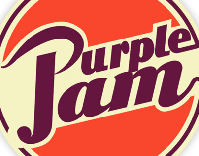 PurpleJam Logo design