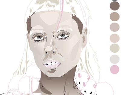 Yolandi Visser Vector Project