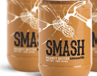 SMASH peanut butter