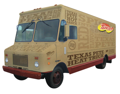 Texas Pete Heat Truck