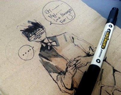 Pen and Pencil  Idea Sketch 2013