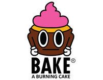 BAKE (A Burning Cake) inspired by BAPE