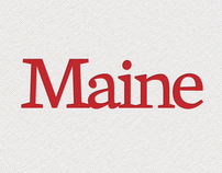 Maine Office of Tourism Logotype Design