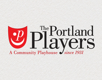 The Portland Players Logo Design