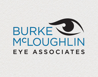 Burke McLoughlin Eye Associates Logo Design