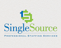 Single Source Staffing Services Logo Design