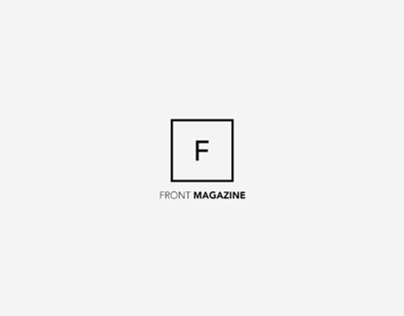 FRONT Magazine Website