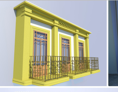 Balcony design project