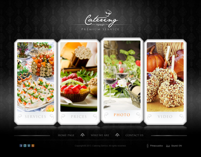 The Catering Premium Service HTML5 Template 300111621