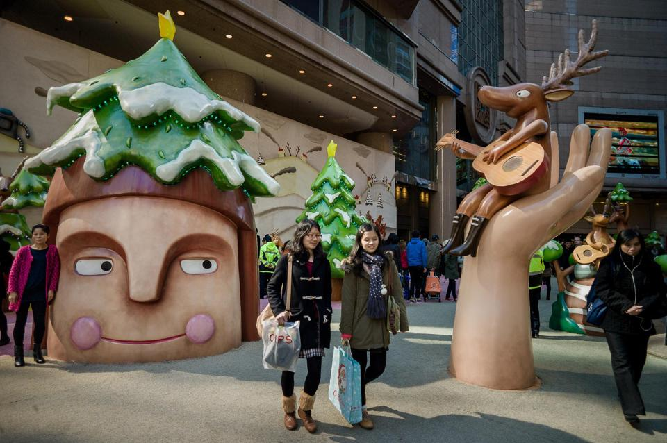 A WHIMSICAL CHRISTMAS WITH JAVIER GONZALEZ BURGOS