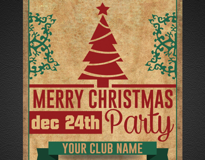 Marry Christmas Party Flyer (v.2)