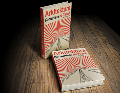 Book Cover ( Albanian architecture )