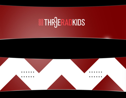 Thr3e Rad Kids Branding and Identity