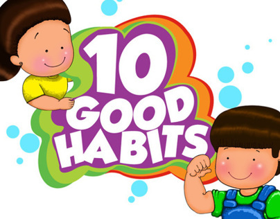 Kids application - 10 Good Habits