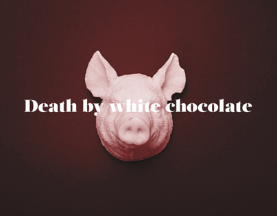 Death by white chocolate