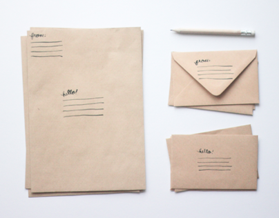 Hello! Envelope Set