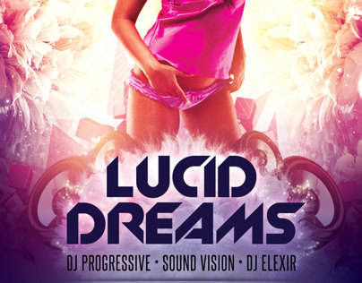 Lucid Dreams Flyer