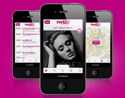 Twizz Radio iPhone App