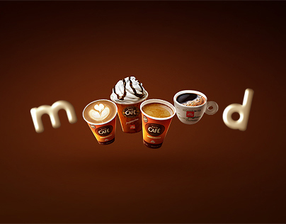 On The Run: Coffe Mood Campaign