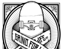 Grind For Life illustration