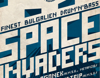 SPACE INVADERS  - finest bulgalien drum and bass