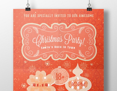 xMas Party Invitation IV