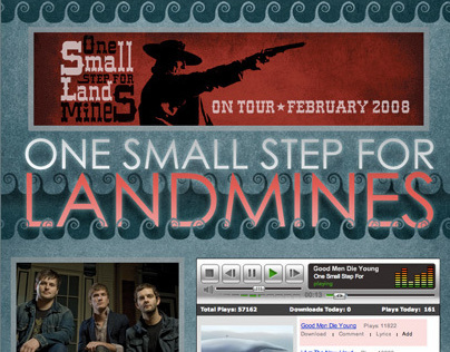 ONE SMALL STEP FOR LANDMINES myspace