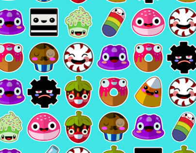 Le Candy Face Friends - IOS App