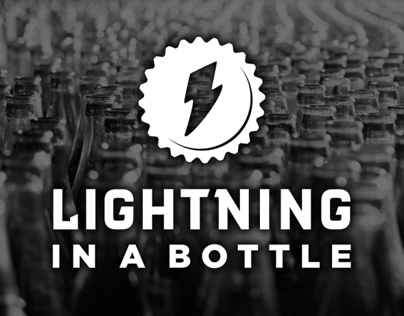 Lightning In A Bottle Brand Identity
