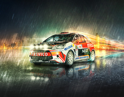 Rally Car Photo Manipulation
