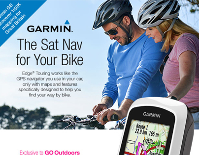 Garmin Edge® Touring promotional email