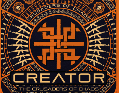 Creator Crusaders of Chaos branding
