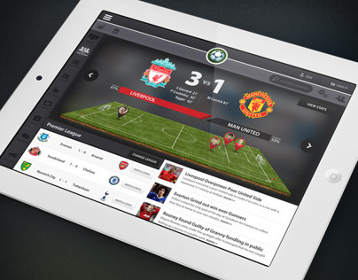 Footie iPad