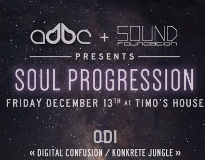 Soul Progression - flyer