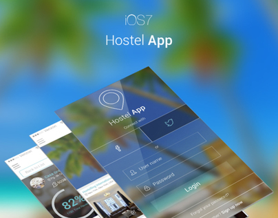 Hostel app for iOS7