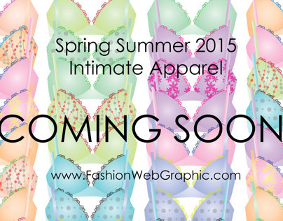 SS2015 Intimate Apparel - Secret Garden