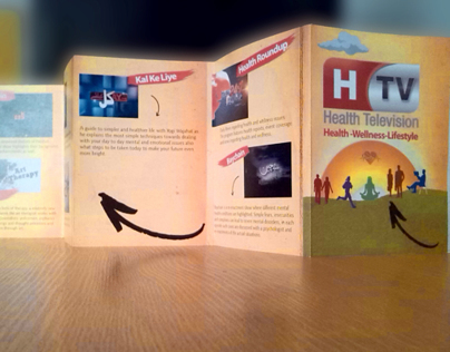 Flyer Design for HTV (health television)