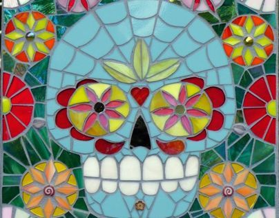 Day of the Dead Mosaic