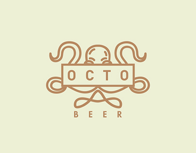 Octo Beer Logo Series